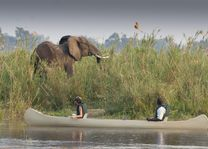 Baines River Camp - kanotocht - Lower Zambezi - Zambia - foto: Baines River Camp