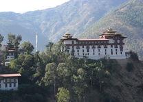 Dzong van Trashigang - Bhutan - foto: Mieke Arendsen