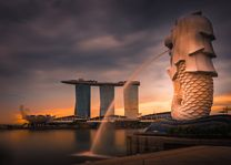 Boat Quay Merlion - Singapore - foto: pixabay