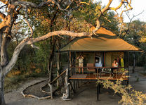 Bomani Tented Lodge - saddle bill tent - Hwange - Zimbabwe - foto: Imvelo Safari Lodges