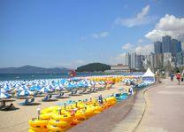 Haeundae Beach Busan, Zuid-Korea - foto: pixabay