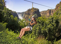 Canopy Tour - Wild Horizons - Victoria Falls - Zimbabwe - foto: Elephant Camp