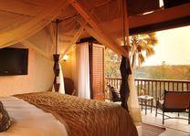 David Livingstone Safari Lodge - double room - Livingstone - Zambia - foto: David Livingstone Safari Lodge