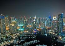 Dubai City - avond - Dubai - foto: pixabay