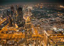 Dubai stad - avond - foto: pixabay