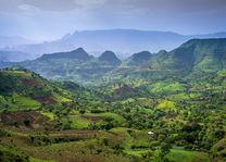 Ethiopië - landschap - Simien Mountains - foto: Ethiopia Travel