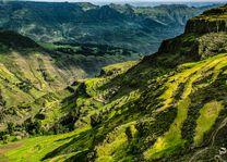 Ethiopië - landschap - Simien Mountains - foto: unsplash