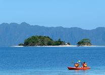 Filipijnen - Coron - kano op zee