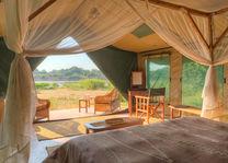 Flatdogs Camp - luxury tent - South Luangwa - Zambia - foto: Flat Dogs Camp