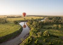 Governors Camp - ballon safari - Masai Mara - Kenia