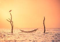 Hangmat - Zonsondergang - Malediven - foto: lokale agent