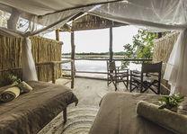 Island Bush Camp - kamer - South Luangwa - Zambia - foto: Island Bush Camp