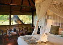 Ivory Lodge - kamer interieur - Hwange - Zimbabwe - foto: Ivory Safari Lodge