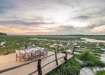 Kafunta River Lodge - dining - South Luangwa - Zambia - foto: Kafunta River Lodge