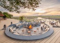 Kafunta River Lodge - zitje - South Luangwa - Zambia - foto: Kafunta River Lodge