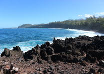 Lava kustlijn - Réunion - foto: Vincent Kösters