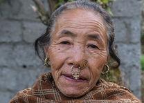 Limboo tribe - portret - Sikkim - India