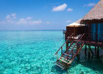 Malediven - floating villa