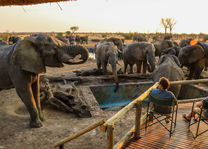 Nehimba Lodge - waterhole - Hwange - Zimbabwe - foto: Imvelo Safari Lodges