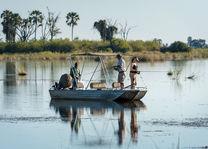 Okavango Delta - boottocht - Botswana - foto: DumaTau Camp