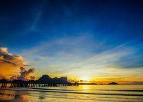 zonsondergang Lio Beach - El Nido Palawan - Filipijnen - Intas - CTTO - foto: Intas
