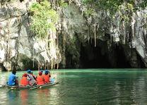 bootje in Puerto Princesa Subterranean River National Park - Sabang - Palawan - Filipijnen -Intas - CTTO - foto: Intas