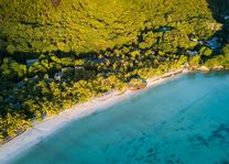 Paradise Sun Hotel - strand - Praslin - Seychellen - foto: Paradise Sun