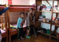 Rhotia Valley - kindertehuis slaapzaal - Ngorongoro - Highlands - Tanzania