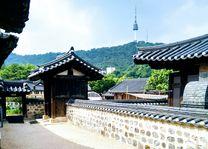 Namsangol Hanok Village, Seoul, Zuid-Korea - foto: Roselien van der Wielen