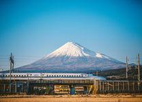 Shinkansen reizen met de trein - duurzaam - Japan