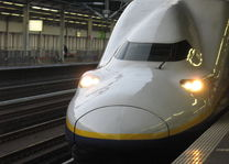 Shinkansen voorkant - Japan - foto: flickr