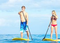 Stand up Paddle Board - suppen - Dubai - foto: lokale agent