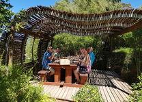 Picknick bij Warwick Wine Estate in Stellenbosch - Zuid-Afrika
