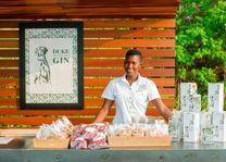 Summerfields Rose Retreat - gin bar - Hazyview - Zuid-Afrika - foto: Summerfields Rose Retreat