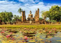 Tempel - Sukhothai - Thailand - foto: lokale agent