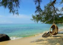 blauwe zee Koh Kood - Cham's House - Thailand