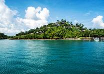 Thailand - Koh Yao Noi - Six Senses Yao Noi - uitzicht op resort vanaf zee