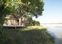 Three Rivers Camp - uitzicht tent - South Luangwa - Zambia - foto: Kafunta Safaris
