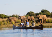 Time Tide Chongwe River Camp - safari met kano - Lower Zambezi - Zambia - foto: Chongwe River Camp