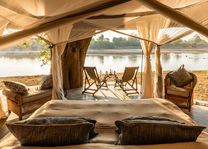 Time Tide Mchenja - chalet interieur - South Luangwa - Zambia