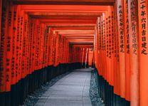 Toorii Gates, Kyoto, Japan - foto: pixabay