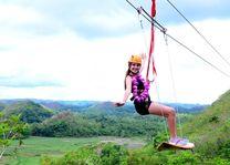 Wave Runner Surf Zip - Chocolate Hills Adventure Park - Bohol - Filipijnen - foto: tripadvisor