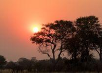 Zonsondergang - Botswana - foto: pixabay
