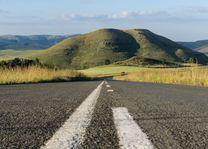 Weg naar Drakensbergen - Drakensberg - Zuid-Afrika