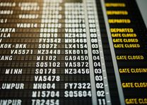 algemeen - vertrekbord luchthaven
