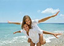 huwelijksreis honeymoon koppel vliegen - Romantisch - Algemeen