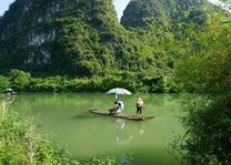 bamboeraft Yulong rivier - Yangshuo - China - foto: pixabay