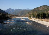 Punakha rivier - Punakha - Bhutan