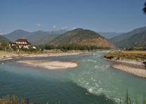 Punakha Dzong water - Punakha - Bhutan - foto: Marloes Wijnhoff