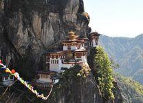 Tigers Nest in Bhutan - Paro - Bhutan - foto: Marloes Wijnhoff
